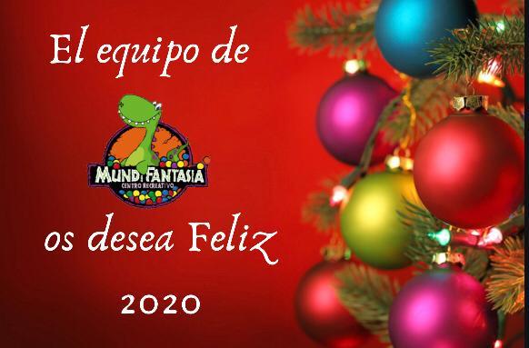 Mundifantasia os desea un Feliz 2020