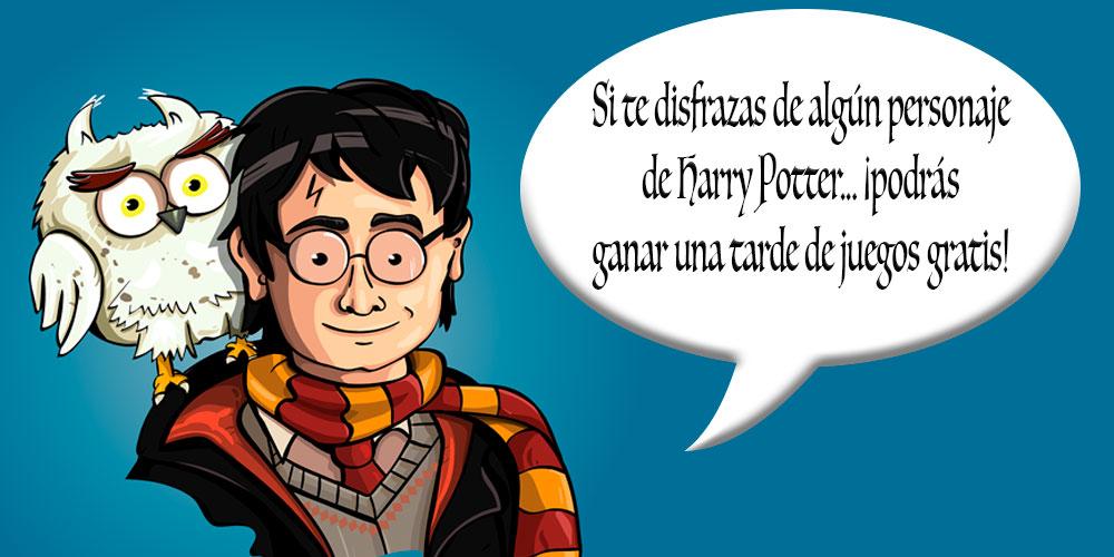 Sorteo en Mundifantasía por un disfraz de Harry Potter