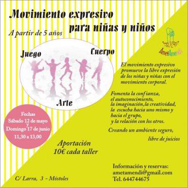 Movimiento expresivo para niñas y niños Móstoles