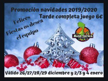 Promoción Navidad 2019 / 2020 en Mundifantasia