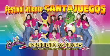 """Festival Cantajuegos en Móstoles """"Aprendiendo los Colores"""""""