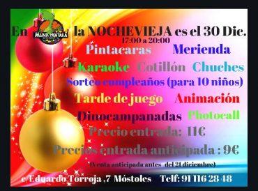 Fiesta de NOCHEVIEJA en Mundifantasia