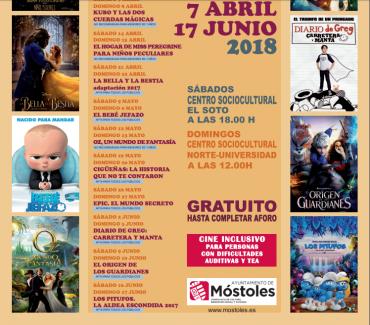 """""""Proyecta"""" Cine para niños en familia en Móstoles"""