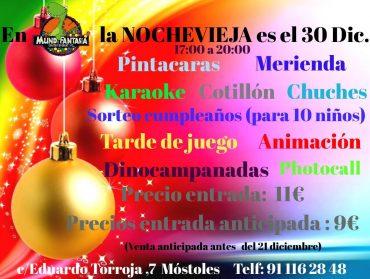Fiesta de Nochevieja para niños en Móstoles